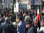 شرکت در راه پیمایی 22 بهمن