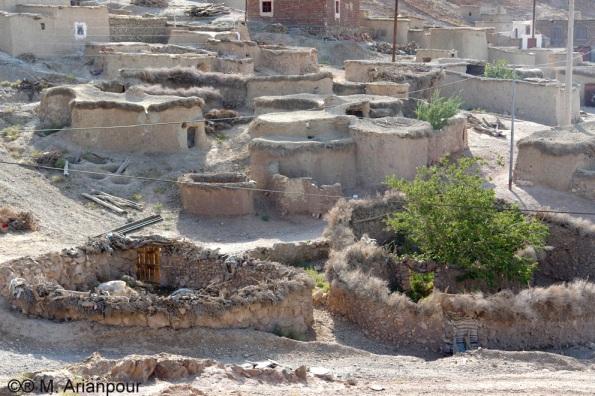 نمایی از روستای ماخونیک (م. آرین پور)