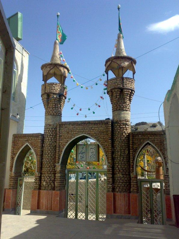نمای مسجد جلمع خراشاد