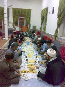 افطاری ماه رمضان در خراشاد 2