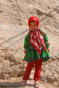 دختری از اهالی چنشت