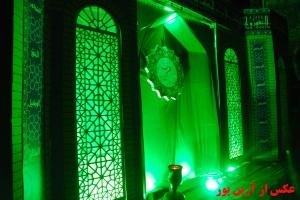 مراسم شب قدر - بیرجند 1387