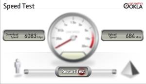تست سرعت اینترنت orange