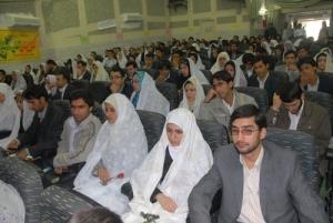جشن ازدواج دانشجویی - دانشگاه علوم پزشکی بیرجند- آذر 87