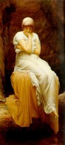 تنهایی اثر Frederic Leighton