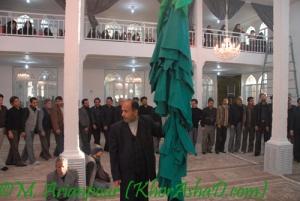 مراسم سنتی علم بندان - خراشاد - دیماه 87