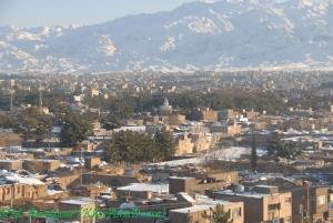 بارش برف زمستانی در بیرجند- دیماه 87