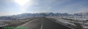 رشته کوه باقران در شمال شهر بیرجند