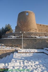بارش برف زمستانی در بیرجند - دیماه 87