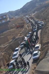 در مسیر �رکت از خراشاد به نصرآباد (جهت بزرگنمایی کلیک نمایید)
