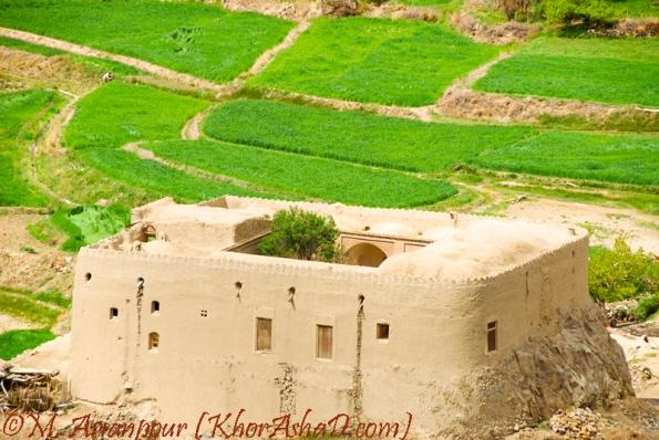 قلعه روستای آرک - بخش خوسف - شهرستان بیرجند