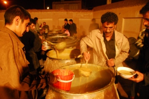 مراسم سنتی  پختن غلور